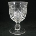 Victorian Antique Tavern/Pub Pressed Glass Rummer c1880