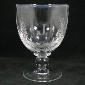 Stevens & Williams Round Funnel Bowl Rummer Glass c1920