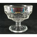 Davidson Art Deco Jacobean Sundae Glass Dish Labelled