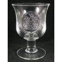 Dartington Glass Regency Seal Goblet Signed & Labelled