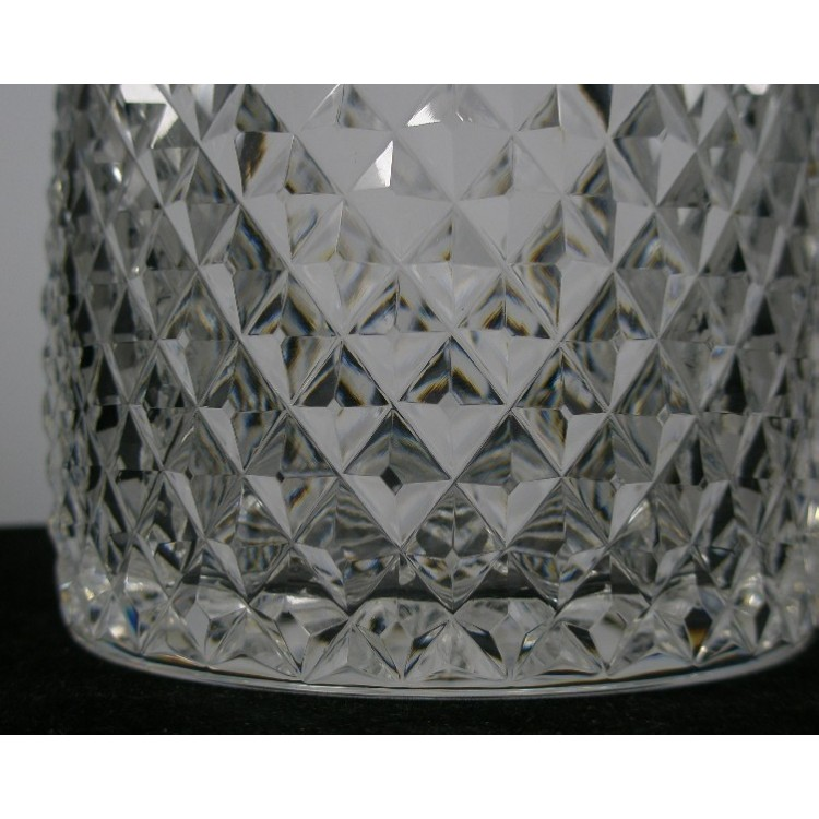 Well-liked Stuart Crystal Dorchester Diamond Cut Glass Decanter - Antique  PX59