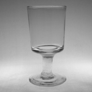 Victorian Antique Tavern/Pub Rummer Glass c1880