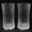 Pair Iittala Ultima Thule Whisky Sour Glasses - Tapio Wirkkala